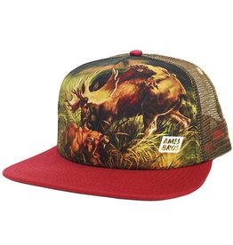 Ames Bros Ames Bros- Altercation- Red- One Size- Hat
