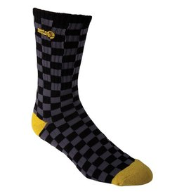 Sector 9 Sector 9- Desmond- Black Grey and Yellow- Socks