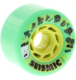 Seismic Seismic- Tantrum- 68mm- 82a- Green- Wheels