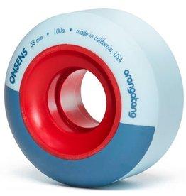 Orangatang Orangatang- Onsens- 58mm- 100a- Blue- Blems- Wheel