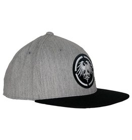 Never Summer Never Summer- Eagle Patch- Heather Grey and Black- Hat