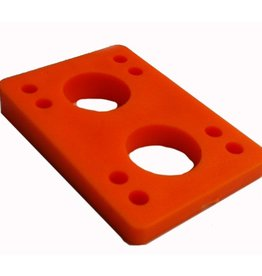 BOARDLife BOARDLife- Angled Wedge- Orange- 1/2 inch- Set of 2- Riser