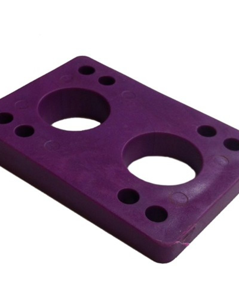 BOARDLife BOARDLife- Angled Wedge- Purple- 1/2 inch- Set of 2- Riser