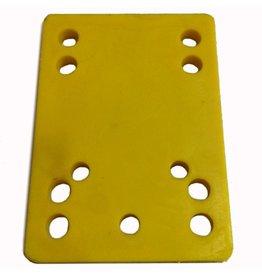 BOARDLife BOARDLife- Riser- Hard- 1/4 inch- Yellow- Set of 2