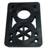 BOARDLife BOARDLife- Riser- Hard- 1/2 inch- Black- Set of 2