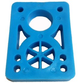BOARDLife BOARDLife- Riser- Hard- 1/2 inch- Blue- Set of 2