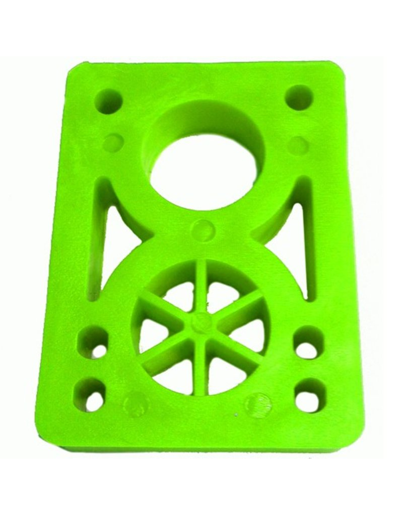 BOARDLife BOARDLife- Riser- Hard- 1/2 inch- Green- Set of 2