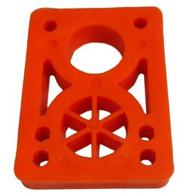 BOARDLife BOARDLife- Riser- Hard- 1/2 inch- Orange- Set of 2