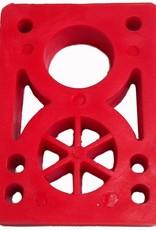 BOARDLife BOARDLife- Riser- Hard- 1/2 inch- Red- Set of 2