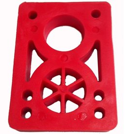 BOARDLife BOARDLife- Riser- Hard- 1/2 inch- Red- Set of 2