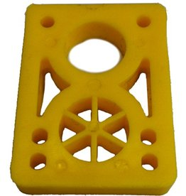 BOARDLife BOARDLife- Riser- Hard- 1/2 inch- Yellow- Set of 2