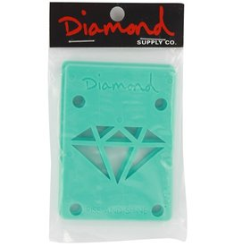 Diamond Diamond- Hardish- Diamond Blue- 1/8 inch- Set of 2- Riser