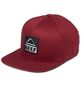 Reef Reef- Classic Block II- Cardinal Red- Hat