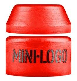 Mini Logo Mini Logo- Street- Barrel and Cone- 100a- Red- Bushing- Set of 2