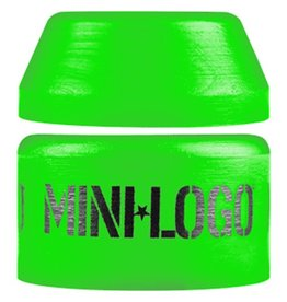 Mini Logo Mini Logo- Street- Barrel and Cone- 84a- Green- Bushing- Set of 2