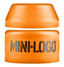 Mini Logo Mini Logo- Street- Barrel and Cone- 94a- Orange- Bushing- Set of 2