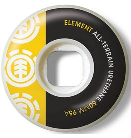 Element Element- Section- 50mm- 95a- White with Black and Yellow- Wheels