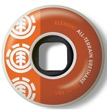 Element Element- Section- 50mm- 95a- White with Orange- Wheels