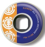 Element Element- Section- 50mm- 95a- White with Purple and Orange- Wheels