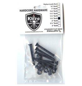 Khiro Khiro- Panhead Hardware- 1.125 inch- Phillips Head