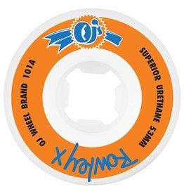 OJ OJ- Rowley- 53mm- 101a- White and Orange- Wheels