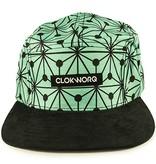 Clokworq Clokworq- Logan- Flat Brim- Green- Hat