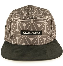 Clokworq Clokworq- Logan- Flat Brim- Grey- Hat