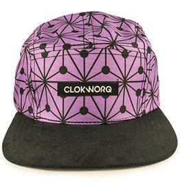Clokworq Clokworq- Logan- Flat Brim- Purple- Hat