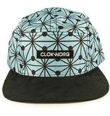 Clokworq Clokworq- Logan- Flat Brim- Blue- Hat