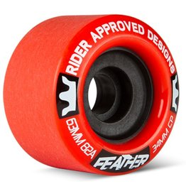 RAD RAD- Feather- 63mm- 82a- Red- Wheels
