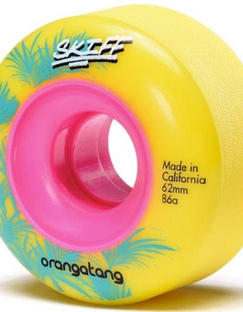 Orangatang Orangatang- Skiff- 62mm- 86a- Yellow- Wheels