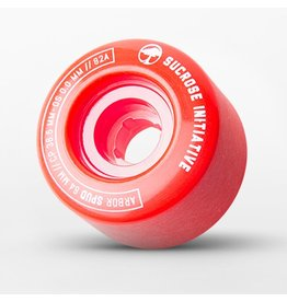 Arbor Arbor- Spud - 64mm- 82a- Red- Wheels