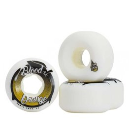Blood Orange Blood Orange- Street Conical- 55mm- 99a- White/Yellow- Wheels