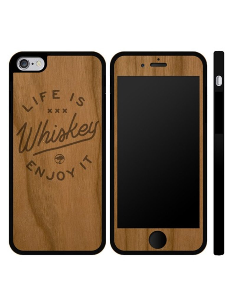 Arbor Arbor- IPhone Case- Life is Whiskey- IPhone 6- Cherry