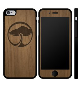 Arbor Arbor- IPhone Case- Arbor Tree Icon- IPhone 6 Plus- Walnut