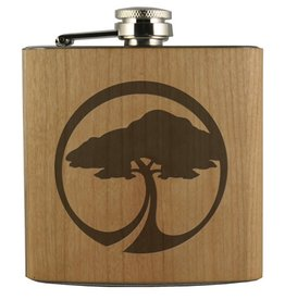 Arbor Arbor- Flask- Arbor Tree Icon- Cherry
