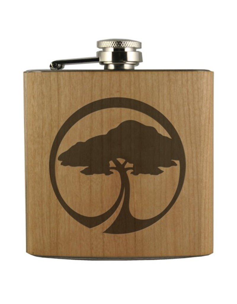 Arbor Arbor- Flask- Arbor Tree Icon- Cherry
