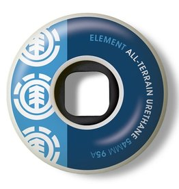 Element Element- Section- 54mm- 95a- White with Blue and Blue- Wheels