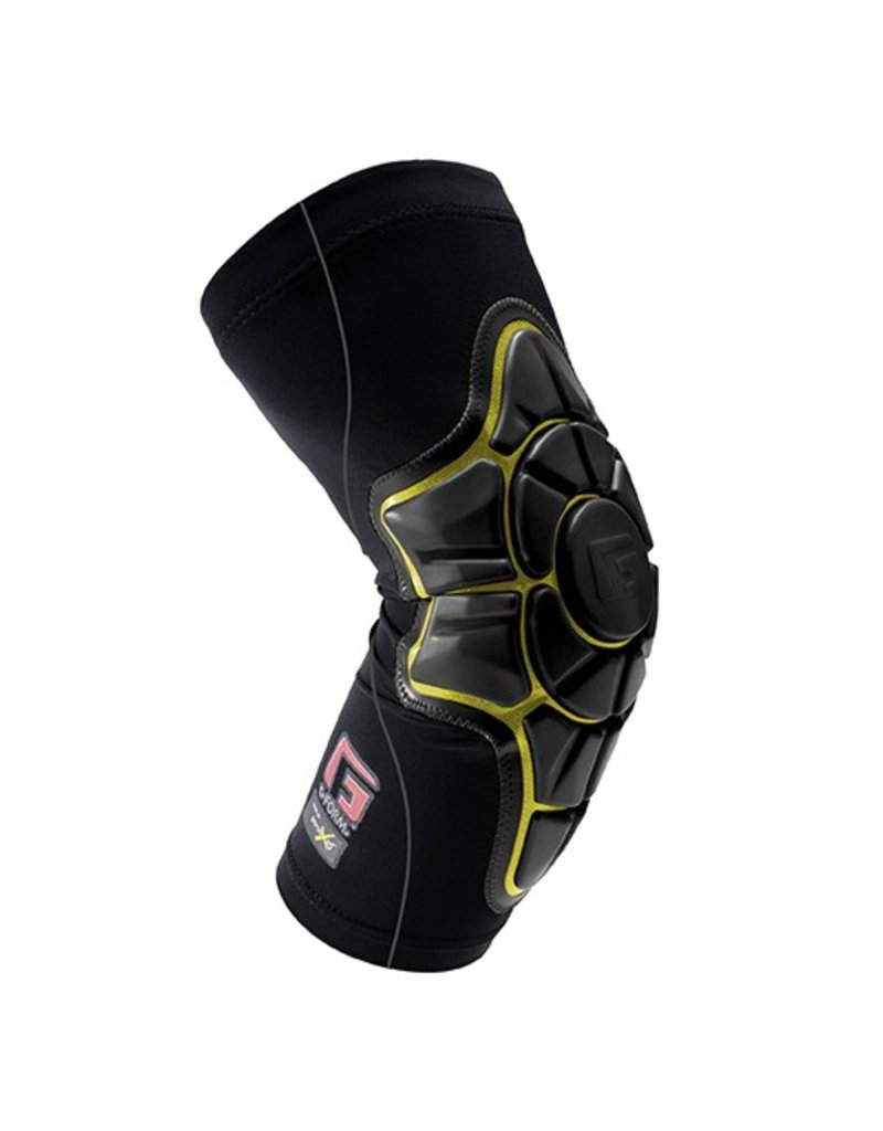 G-FORM G-FORM- Pro X- Elbow Pad- Black / Black with Yellow