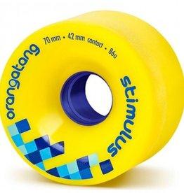 Orangatang Orangatang- Stimulus- 70mm- 86a- Yellow- Wheel