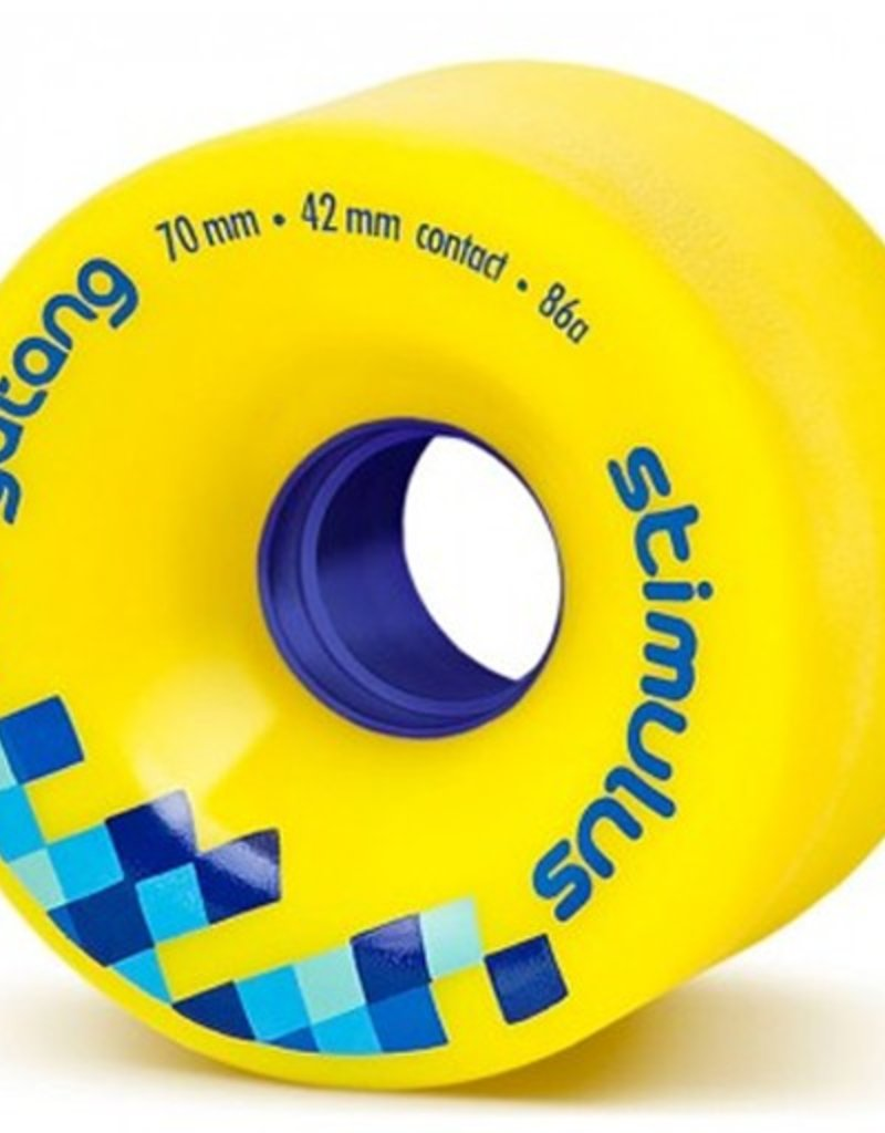 Orangatang Orangatang- Stimulus- 70mm- 86a- Yellow- Wheel