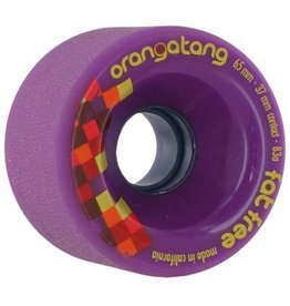 Orangatang Orangatang- Fat Free- 65mm- 83a- Purple- Wheel