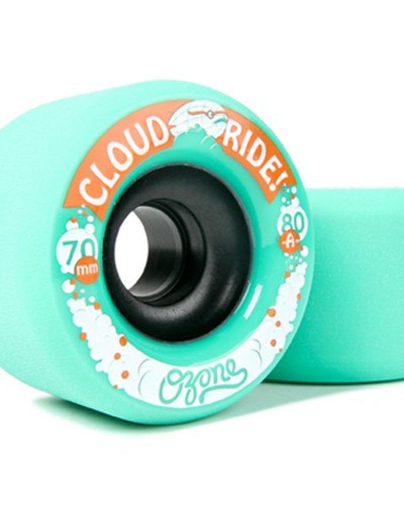 Cloud Ride Cloud Ride- Ozone- 70mm- 80a- Aqua- Wheels