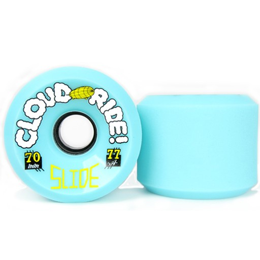 Cloud Ride Cloud Ride- Slide- 70mm- 77a- Light Blue- Wheel