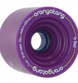 Orangatang Orangatang- In Heat- 75mm- 83a- Purple- Wheel