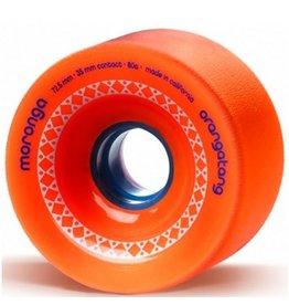 Orangatang Orangatang- Moronga- 72.5mm- 80a- Orange- Wheel