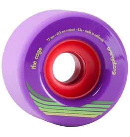 Orangatang Orangatang- The Cage- 73mm- 83a- Purple- Wheel