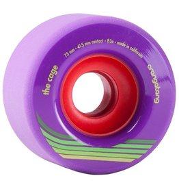 Orangatang Orangatang- The Cage- 73mm- 83a- Purple- Wheel