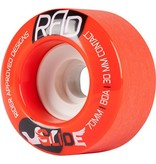 RAD RAD- Glide- 70mm- 80a- Red- Wheels