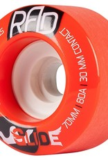 RAD RAD- Glide- 70mm- 80a- Red- Wheels